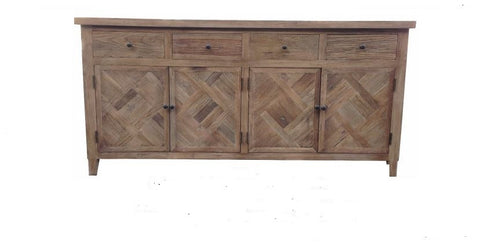 Madeliene buffet in recycled elm