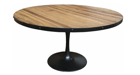 Montreux industrial dining table