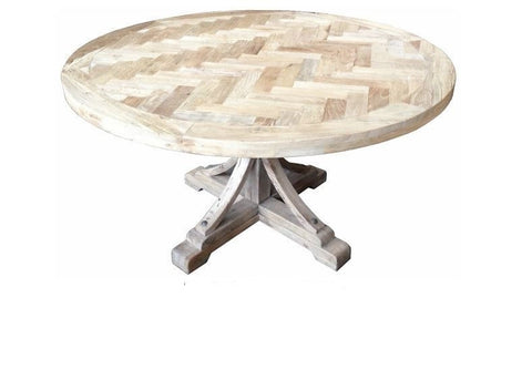 Provence French style round dining table