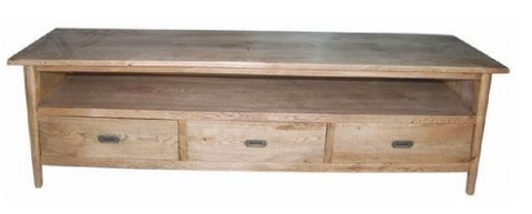 Scandi low line tv unit