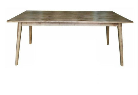 Scandi dining table.