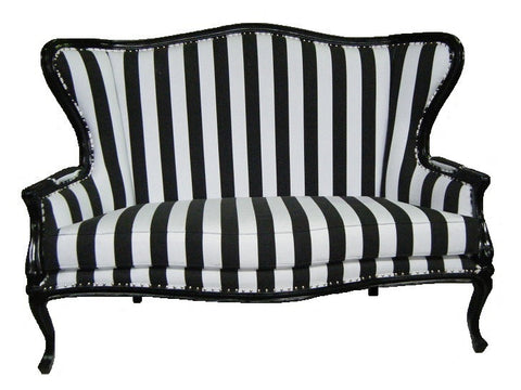 French style Bergere accent sofa