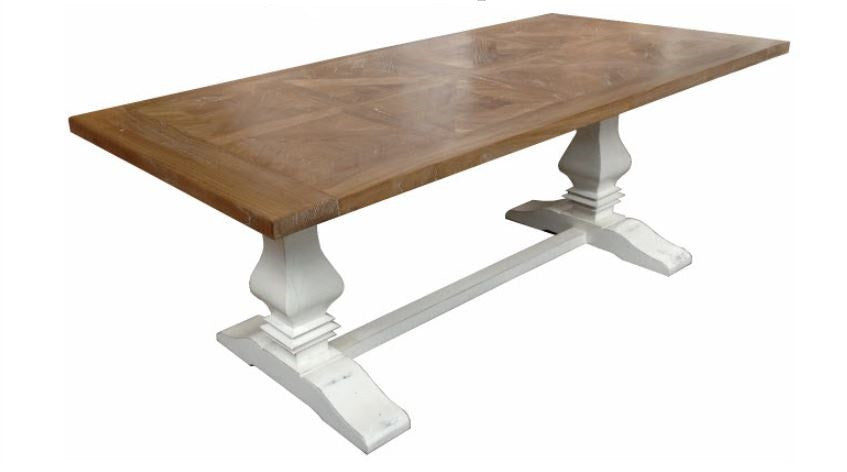 Vivre French Style Parquetry Top Dining Table Jack Horner