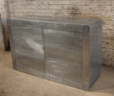 Industrial aviator chest of drawers.