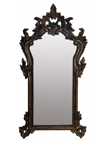 Large decorative mirror.