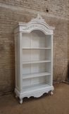 French style open bookcase