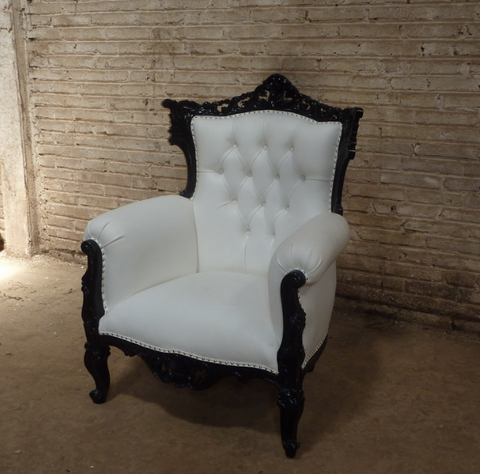 "French style ""Rococco"" accent chair"