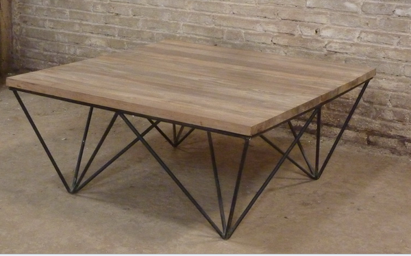 Matrix Industrial Style Coffee Table Jack Horner Interiors
