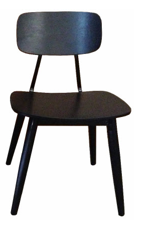 Contempo industrial style dining chair