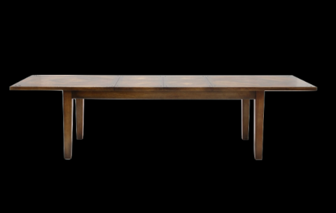 Fruitwood extension dining table