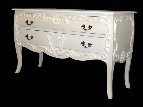 French style chest of drawers.