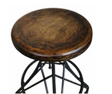 Industrial style Gepeto barstool