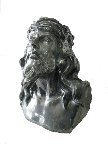 Decorative bust of Jesus.
