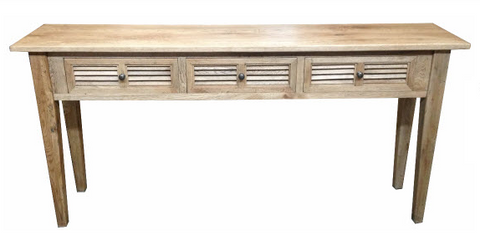 Louvre console table.