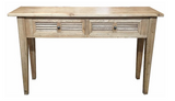 Louvre console table