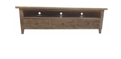 Madeliene parquetry top tv unit.