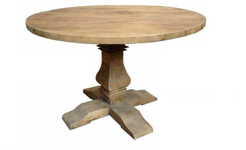 Chateaux French style round dining table