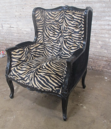 Bergere French style accent chair