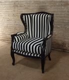 "French style ""Bergere"" accent chair"
