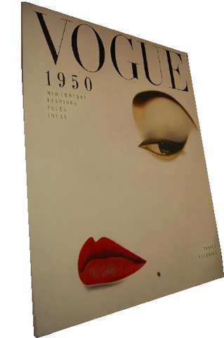 Decorative Vogue canvas.