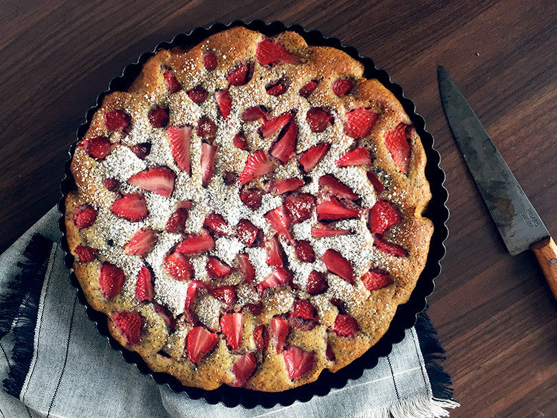 indian goods co summery strawberry cake recipe blog shop
