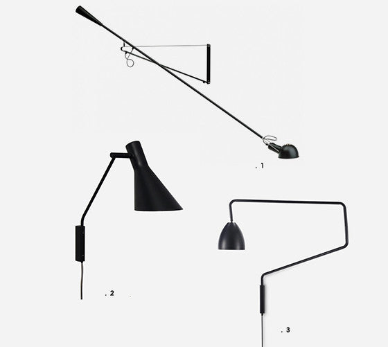 indian goods co friday link pack swing lamps bolia vitra flos