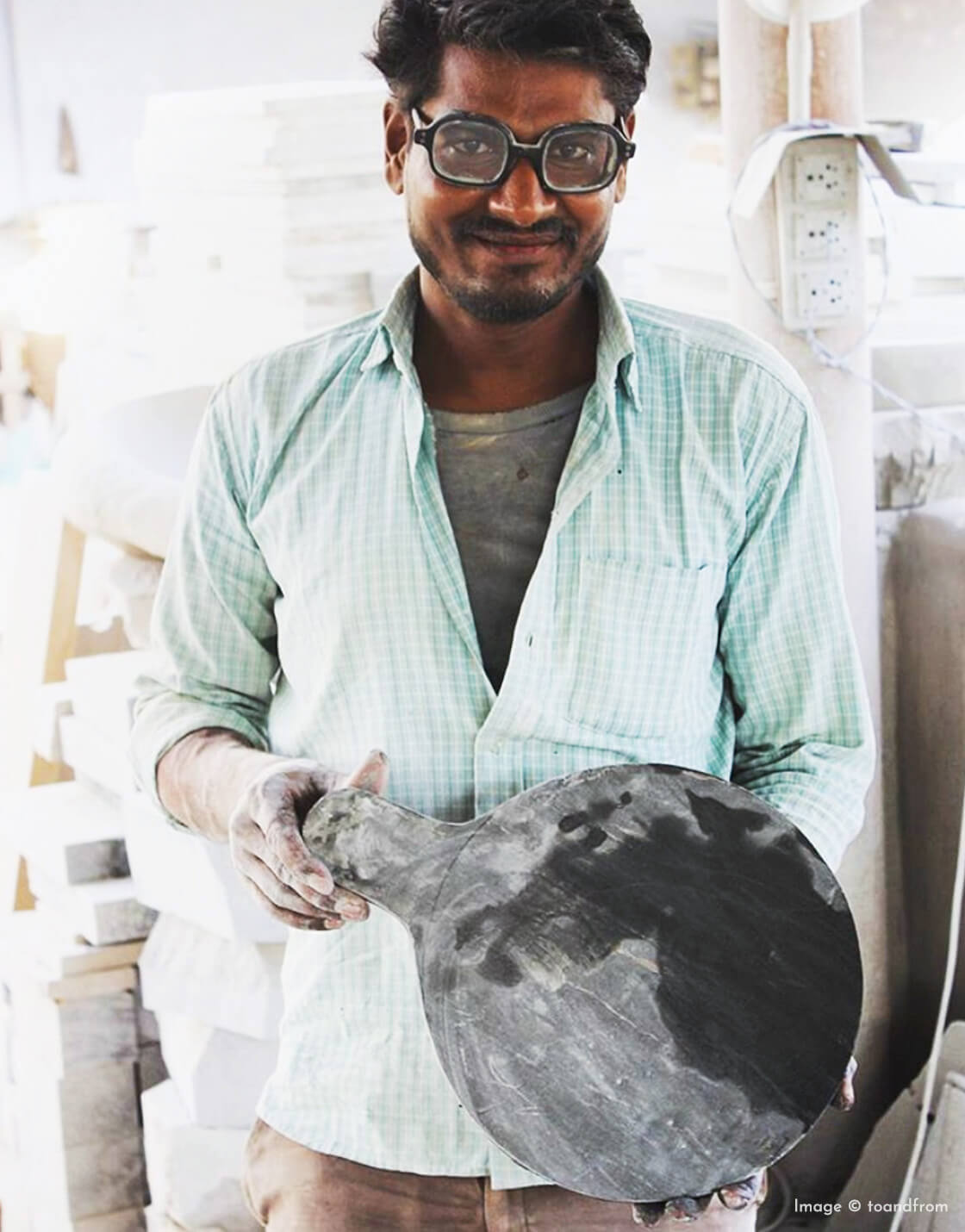 indian goods co blog origins of products handmade in india ethically produced sustainable considered living toandfrom nadmade chakla