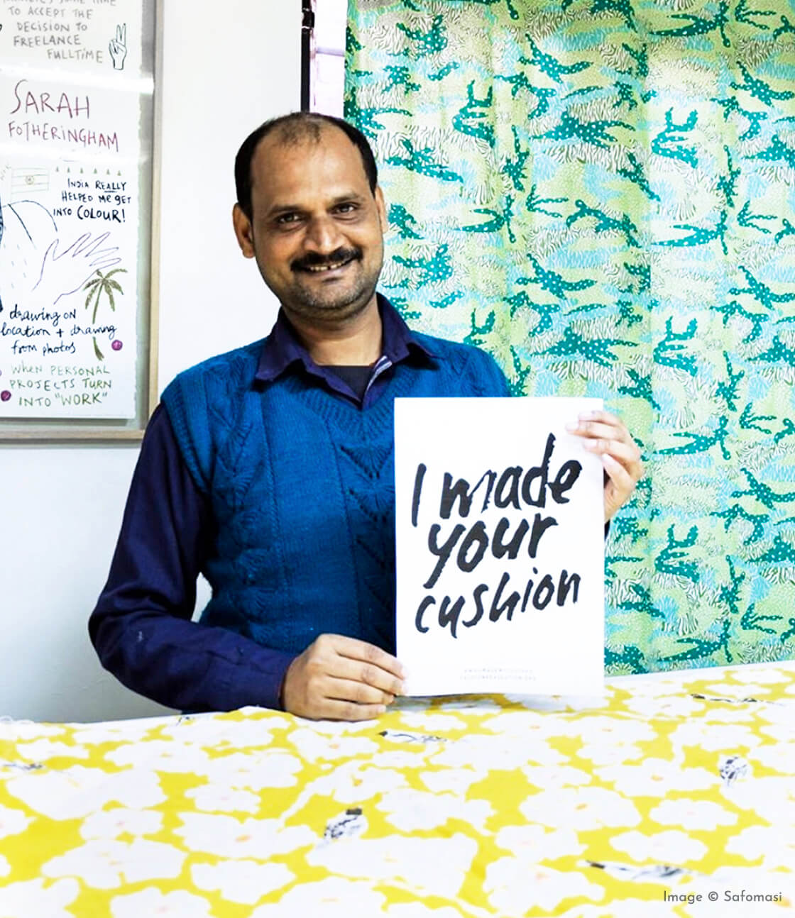 indian goods co blog origins of products handmade in india ethically produced sustainable considered living safomasi master tailor chirag delhi