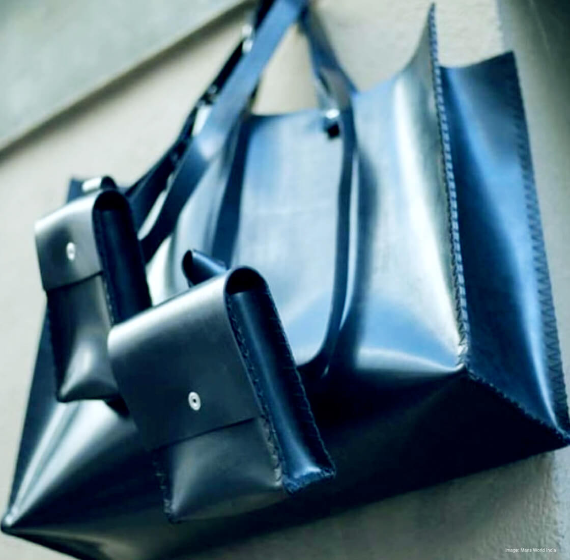 bags from chamar studio's bombay black collection