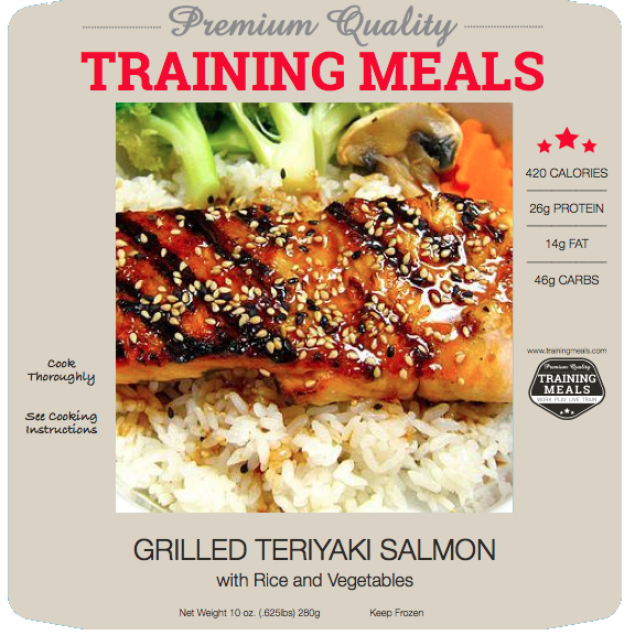 Training Meals Grilled Salmon_Workout Meal Plan_Fitness Meal