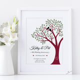 Wedding Anniversary Framed Print