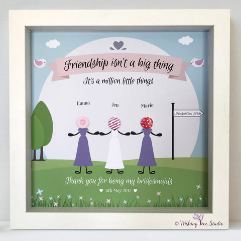 I do crew bridesmaids frame
