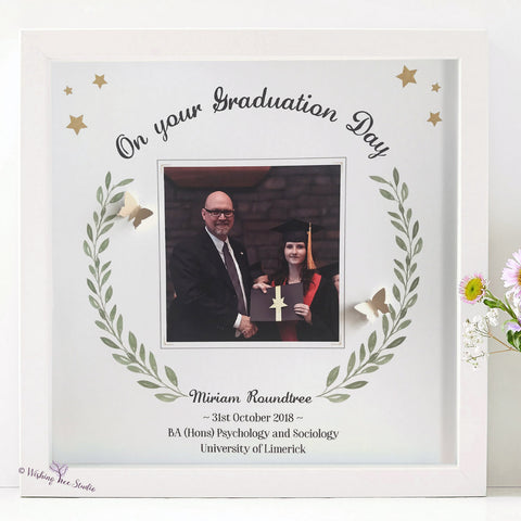 Personalised Graduation Day Photo Frame