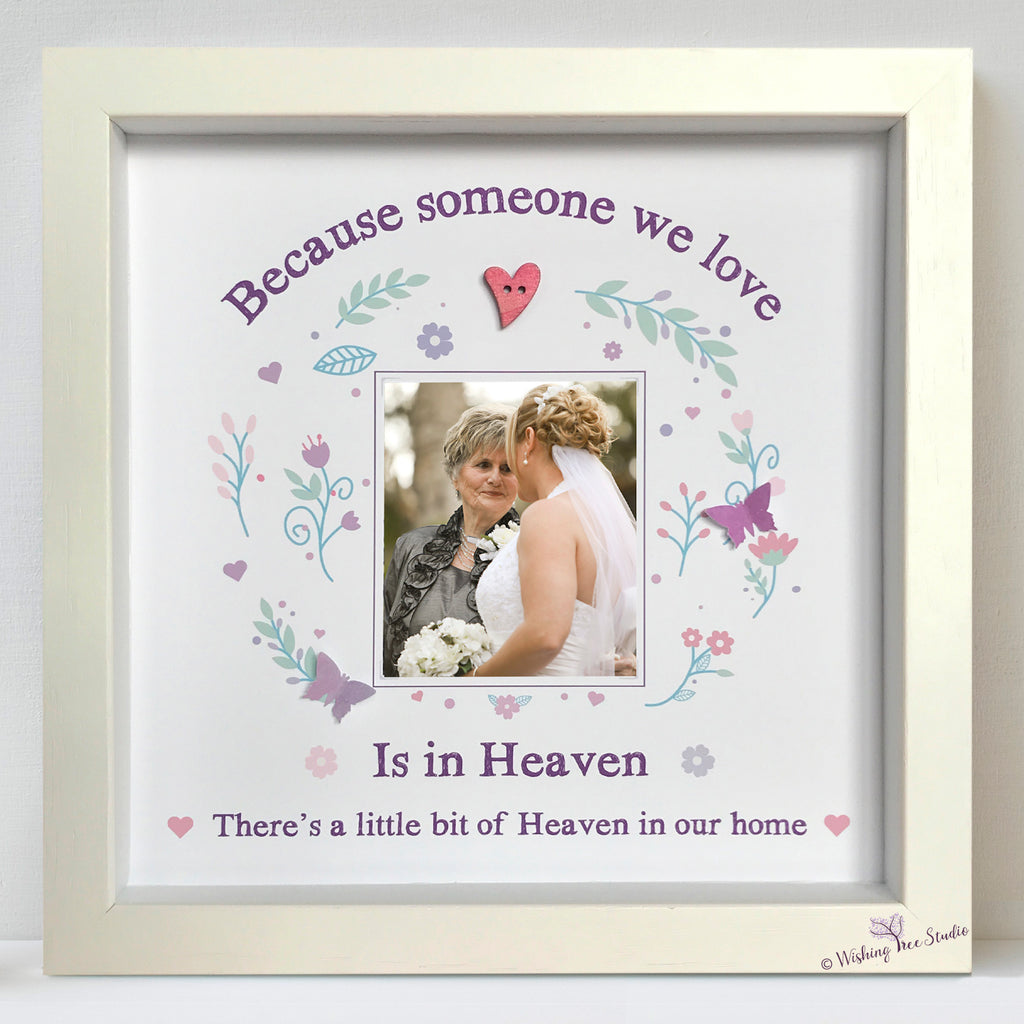 Someone we love is in heaven photo frame