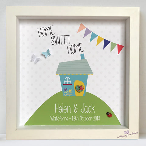 Home Sweet Home / Our First Home frame