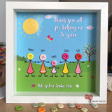 Teacher thank you frame button head