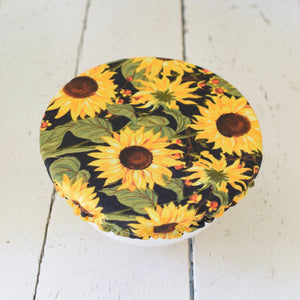 Sunflower bowl cover set