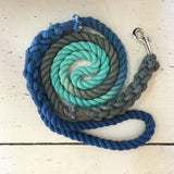 Ombre Dog Leash-Stormy Seas