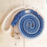 Ombre Dog Leash - Royal Blue