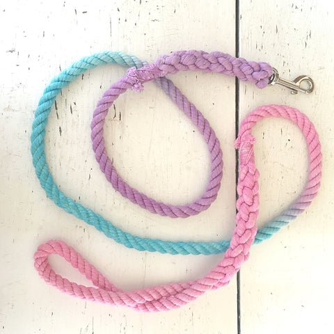 Ombre Dog Leash-Cotton Candy