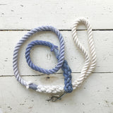 Ombre Dog Leash - Dark Periwinkle Ombré
