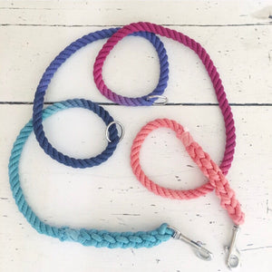 Convertible Leash- Boho Rainbow