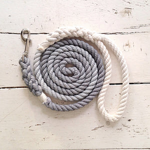 Ombre Dog Leash - Steel Grey