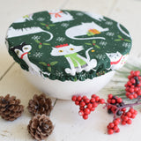 Reusable Bowl Covers Holiday