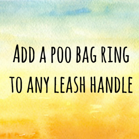 Poop Bag Ring Add On