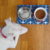 Hexagon Pet Bowl Mat
