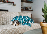 Reversible Plush Dog Blanket
