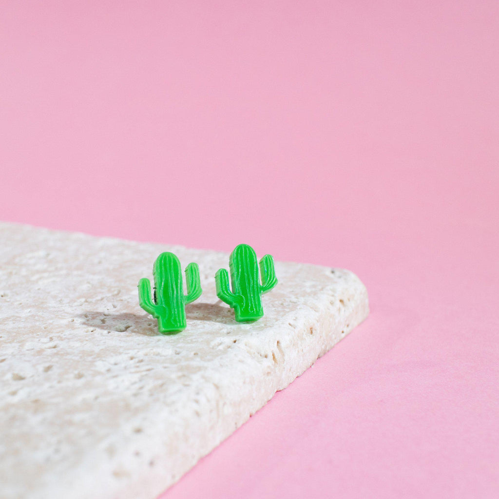 Cactus Earrings - Finest Imaginary