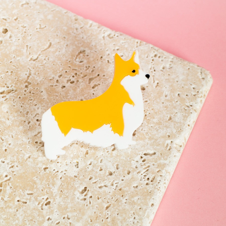 Corgi Brooch - Finest Imaginary