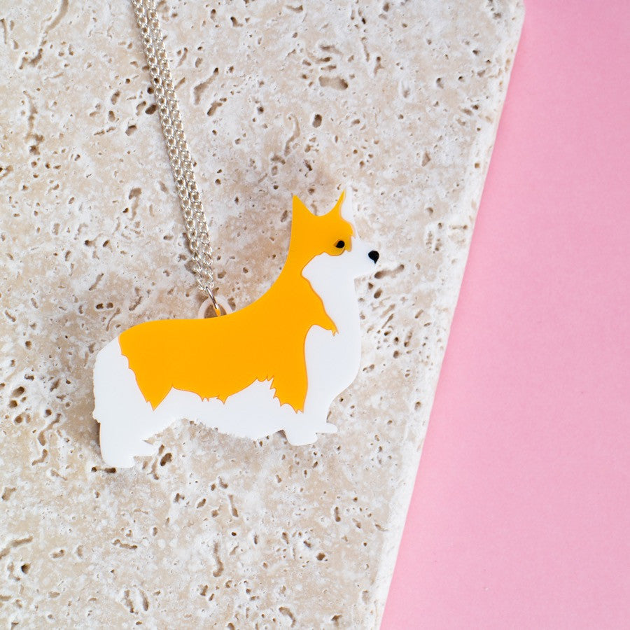 Corgi Necklace - Finest Imaginary